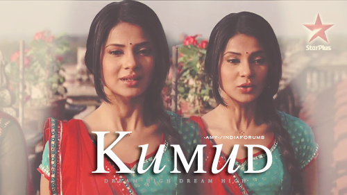 Saraswatichandra (TV series) karatasi la kupamba ukuta with a portrait entitled || Kumud ||