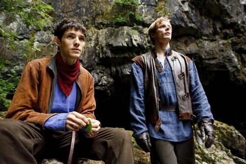 Bradley James wallpaper entitled ''Merlin''_2 season