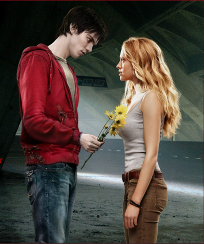 Warm Bodies Movie Hintergrund titled R & Julie