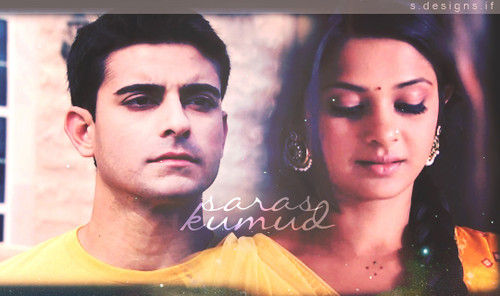 Saraswatichandra (TV series) karatasi la kupamba ukuta possibly containing a portrait entitled || Saraswatichandra ||