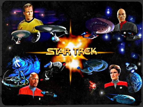 ★ étoile, star Trek ☆