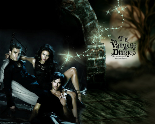 Vampire Diaries fond d'écran containing a rue entitled ♥ THE VAMPIRE DIARIES ♥