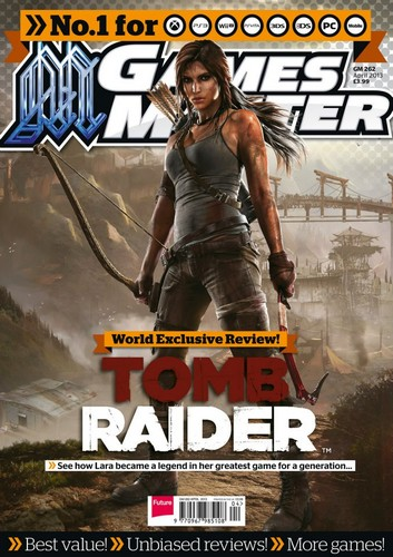 Tomb Raider on the cover of GameMaster