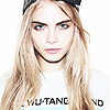 Cara Delevingne фото with a portrait entitled ♥