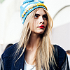 Cara Delevingne фото containing a portrait titled ♥