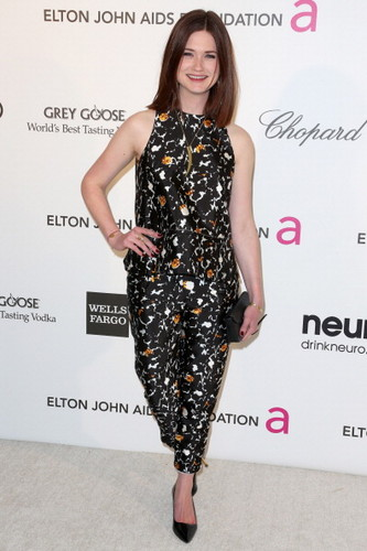 Bonnie Wright wallpaper titled 2013 - 21st Annual Elton John AIDS Foundation's