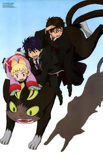 Ao no Exorcist fondo de pantalla titled AO NO EXORCIST MOVIE
