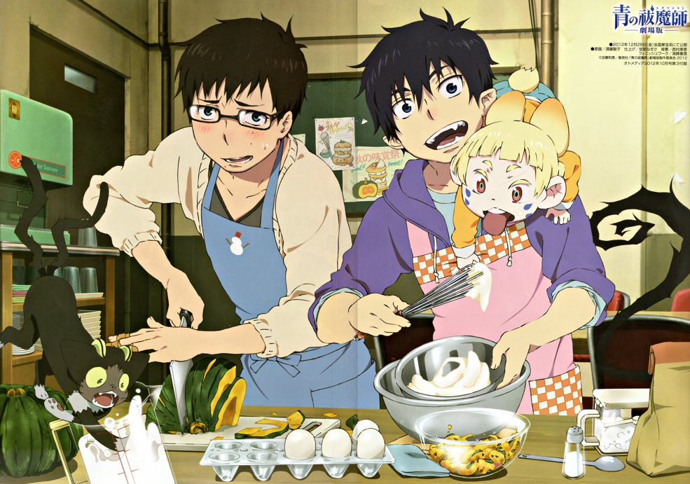 Ao No Exorcist Images Ao No Exorcist Movie Hd Wallpaper And