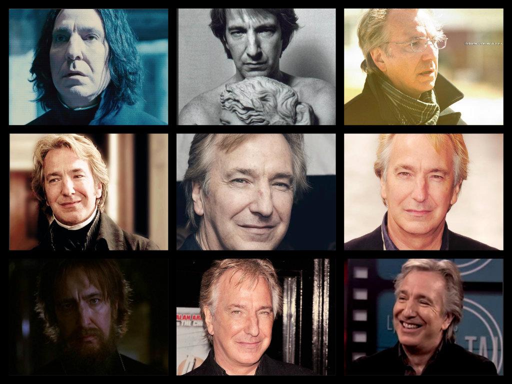 Alan s many faces