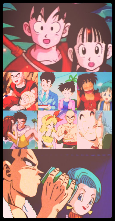 All Dragon Ball Official Love Stories
