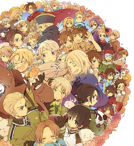 Hetalia wallpaper entitled Allies Power