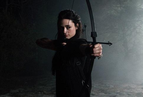 Allison argent recurve bow