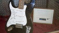 An Autographed Michael Jackson gitarre