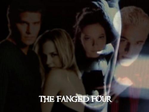Angel , Darla , Drusilla & Spike