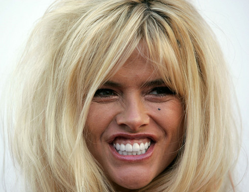 Anna Nicole Smith natural look