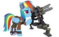 Army Rainbow Dash - rainbow-dash photo