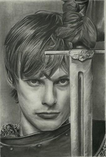 Arthur Pendragon Drawing