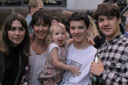 Asa and family members (: