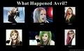 Avril Lavigne Through Time