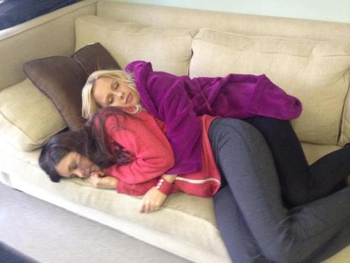 Awww...Nina & Claire