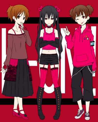 Azusa, Ui, and Jun