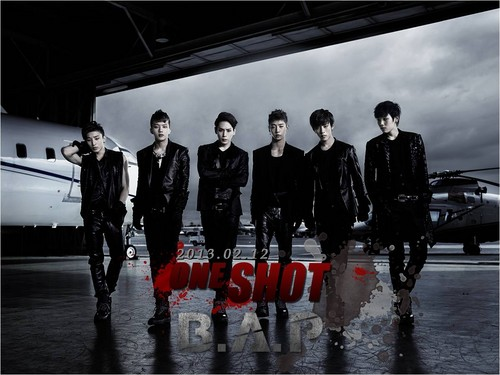 B.A.P one shot wallpaper :)
