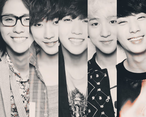 Kpop wallpaper entitled B1A4