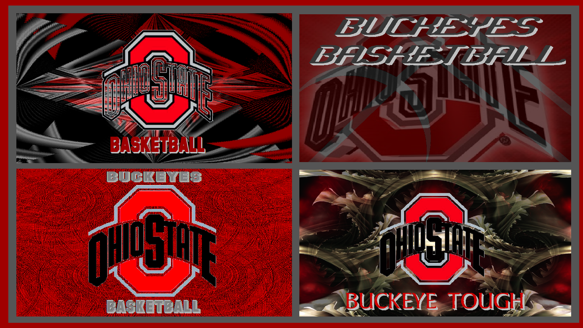 BASKETBALL WALLPAPER COLLAGE