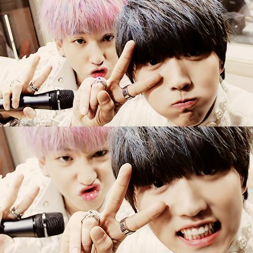 Badeul - KPOP Couples Photo (33773033) - Fanpop B1a4 Sandeul And Baro