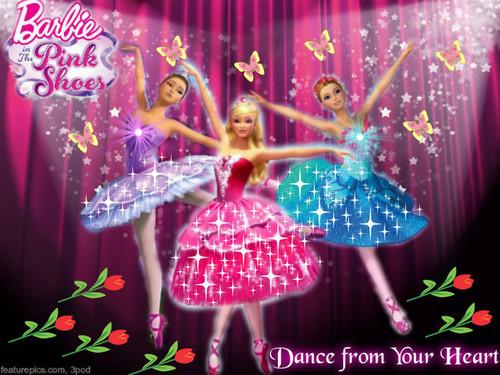 películas de barbie fondo de pantalla titled Ballerina mostrar