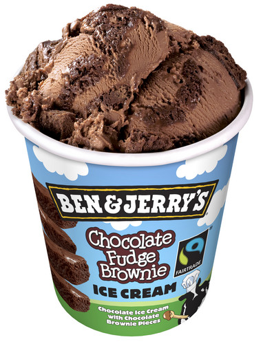 Chocolate wallpaper with a chocolate ice cream entitled Ben And Jerry's Chocolate Ice Cream