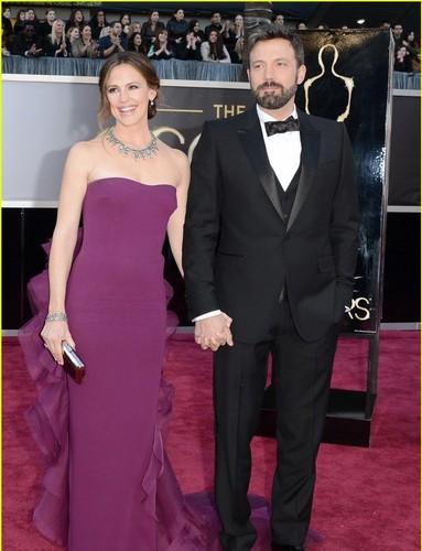Ben&Jen at the Oscars 2013