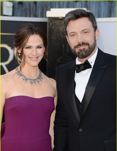 Ben&Jen at the Oscars 2013