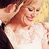 Parks and Recreation photo containing a bridesmaid titled Ben/Leslie
