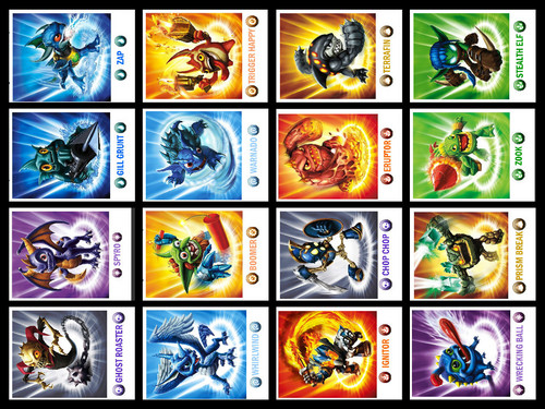 Bingo Card 13 - skylanders-spyros-adventure Fan Art
