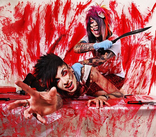 Blood on The Dance Floor wallpaper entitled Blood On The Dance Floor