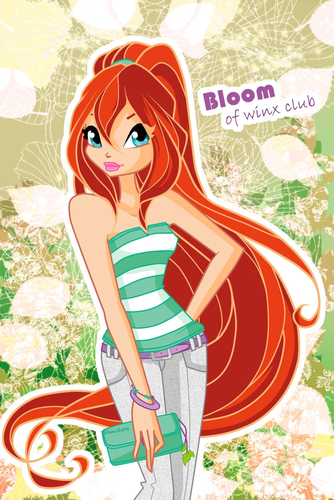 The Winx Gang wallpaper with animê called Bloom