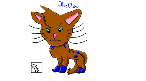 Blueclaw a Thunderclan He-cat