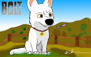 Bolt fanart Обои