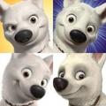 Bolt's facial expressions