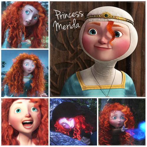 Brave Alphabet: P from Princess Merida
