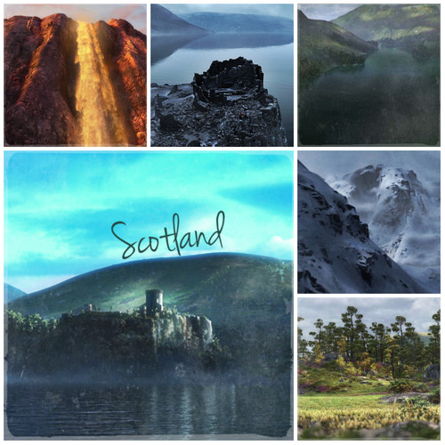 Ribelle - The Brave Alphabet: S from Scotland/Scenery
