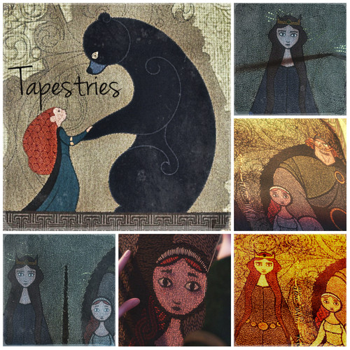 Brave Alphabet: T from Tapestries
