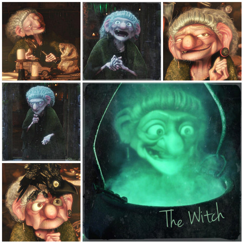 Ribelle - The Brave Alphabet: W from the Witch