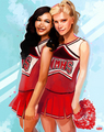 Brittana - glee fan art
