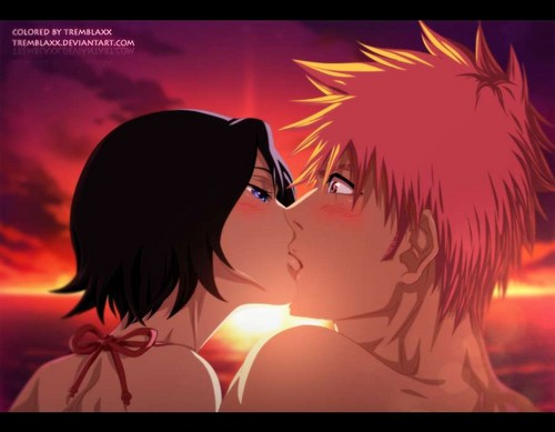 anime bleach wallpaper titled COUPLES