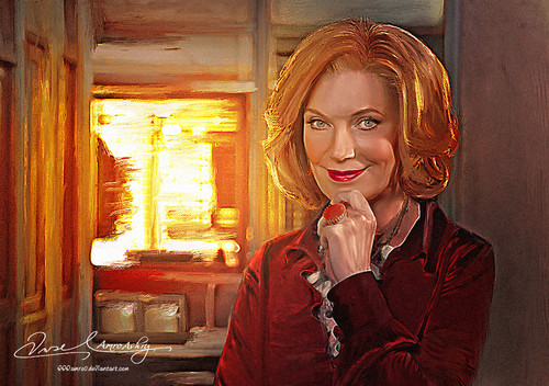 Martha Rodgers - Susan Sullivan- Calendar 2013 from Heat News Magazine -france