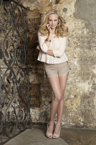 "Candice Accola wallpaper probably containing bare legs titled Candice's ""OK!"" magazine photoshoot now untagged [UK - August 2011]"