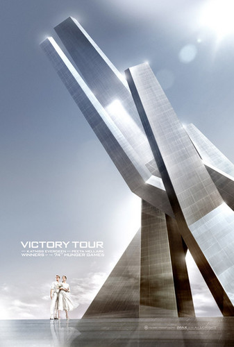 The Hunger Games wallpaper called Catching Fire Movie Poster - The Victory Tour [Official]