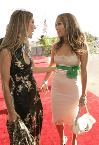 Celine Dion, Jennifer Lopez 2004